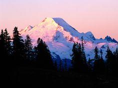 Summiting Mount Baker, Washington