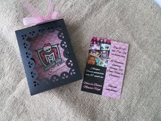 Monster high invitation party
