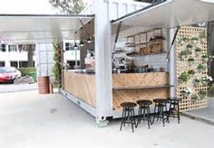 A Shipping-Container Cafe - Broadsheet
