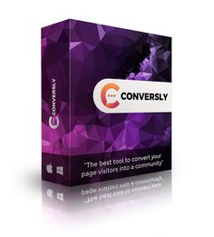 Conversly By Karthik Ramani Review - The Best Tool To Convert Your Page Visitors Into A Community See How a Simple Chat Widget Can Convert Every Visitor on Your Page Into a Sale, Build your Email List on Complete Auto-Pilot