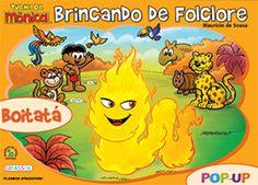 Turma da M�nica/Col-Brincando de Folclore/Boitat�