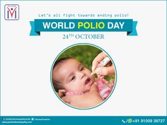 #WorldPolioDay. Let's all fight towards ending polio!