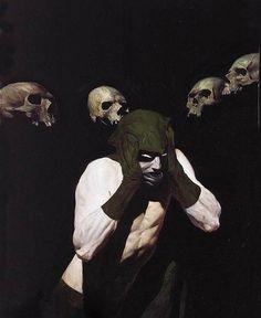 """Phil Hale is an American contemporary painter"" Comic Books Art, Comic Art, The Wicked The Divine, Comic Kunst, Bd Comics, Figurative Art, Dark Art, Oeuvre D'art, Storyboard"