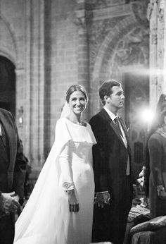 Vogue Spain real wedding: Almudena & Jose Antonio