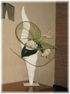 Arrangements Ikebana, Modern Floral Arrangements, Church Flower Arrangements, Home Flowers, Church Flowers, Art Floral, Floral Design, Flower Show, Flower Art