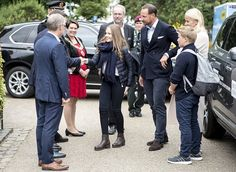 Norwegian Crown Prince Family at 2017 UCI Road World Championships