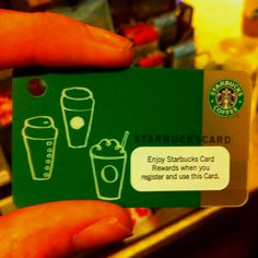 Starbucks Gift Card!