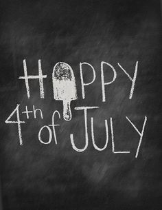 8x10 Happy 4th of July Digital Print by alittlelovedesigns on Etsy, $10.00
