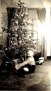 Decorated Christmas Tree 1936