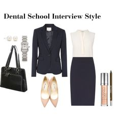 Dental School Interview Style by gabriellebleu on Polyvore featuring L.K.Bennett, Reiss, Brian Atwood, Cartier, Tiffany & Co., Urban Decay and Samsonite