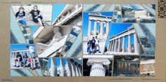 Partenon Grèce Gabarit Point de fuite de Perle de Sable