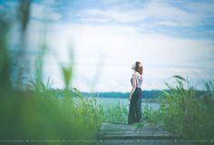 Waiting the storm #woman #girl #summer #model #fashion #beach #sea #sun #photograph
