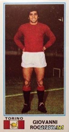 Giovanni Roccotelli, ala destra, arriva al Toro dall'Avellino nel 1974-75, a 22 anni: in Campionato 2 presenze, in Coppa Italia 6 presenze e in Coppa Uefa 1 presenza. Totale 9 partite.