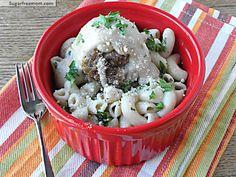 Creamy Crock Pot Turkey Meatballs: Gluten Free