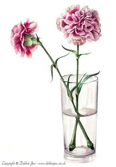 Watercolour Flowers on Behance