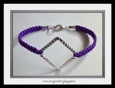 New tutorial coming soon to make this bracelet! www.vovsjewellery.blogspot.ie Diy Jewelry Knots, Macrame, Weaving, Jewellery, Bracelets, How To Make, Inspiration, Biblical Inspiration, Jewels