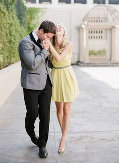 I think this would be such a cute #Engagement #Pose!