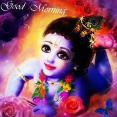 Jai Shree Krishna.. Shubh Prabhat.. Aapka din magalmay ho.. #love #krishna #kanha #Kanhaiya #heart #desi #Indian #hindu #Hinduism #spiritual #spirituality #flute #bansuri #peacock #beautiful Hare Krishna, Krishna Krishna, Good Night Wallpaper, Sweet Lord, Good Morning Good Night, Peacock, Indian, Jay, Spirituality