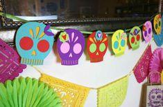 Felt Calaca Banner for Dia de Los Muertos - Crafty Chica™