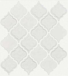 Kitchen Surround | Geoscapes Diamond White
