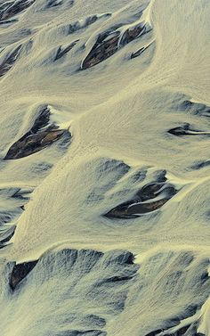 1 | Aerial Photos Capture Iceland's Hypnotizing Rivers | Co.Design | business + design