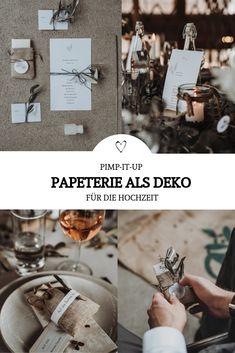 Eure Papeterie für die Hochzeit könnt ihr mit vielen kleinen DIY Deko Elementen wie Greenery, Eukalyptus o. Olivenzweigen super einfach für versch. Stile wie Boho, Vintage, Pampas, Rustikal, Industrial, Urban oder Romantisch anpassen. In unserem styled Shooting zum Thema Heiraten mit Kaffee findet ihr viele Inspirationen für eure Hochzeits-Papeterie & wie ihr Elemente wie die Freudentränen, Geschenkanhänger, Einladungen, Sticker, Gastgeschenke uvm. gestalten könnt! // #Hochzeit #diyBraut… Boho Vintage, Place Cards, Sticker, Industrial, Place Card Holders, Party, Paper Mill, Super Simple, Favors
