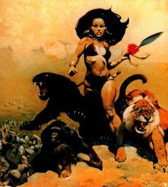frank frazetta :: luanaii