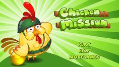 لعبة الدجاج في مهمة لعبة حلوة من العاب اطفال الرائعة جداً علي العاب فلاش ميزو.