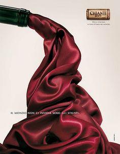 Geniale Testa per il Chianti.  Armando Testa genius for Chianti wine.