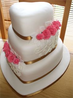 The Simply Wonderful Wedding Cake - Simply Elegant Cakes
