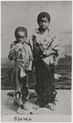 New York Public Library Collection -- Slave Children