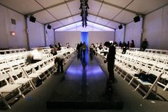 MERCEDES BENZ fashion week -BRYANT PARK NY - HAVE TO GOOO ONE DAY