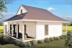Small House Floor Plans, Best House Plans, Cottage House Plans, Cottage Homes, Cottage Ideas, Small Farmhouse Plans, Farmhouse Rules, Modern Farmhouse, Great Room Layout