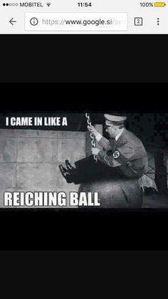 Miley Cyrus x Adolf Hitler hahahhahaahaa - Hitler Jokes, History Channel Meme, History Jokes, Terrible Jokes, Stupid Funny, Hilarious, Teen Memes, Dankest Memes, Jokes