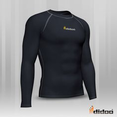 Ideal as a base layer or for training, Didoo Shirts are a tight fit compression garment. Profile Design, Sport Man, Keep Your Cool, Shirt Sleeves, Wetsuit, Tights, Shorts, Fitness, Swimwear
