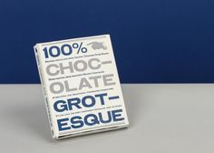 Chocolate Grotesque: a tasty portfolio from LCC student Peter Roden