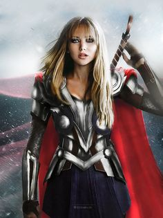 Most people seem to love The Avengers and the Marvel cinematic universe as a whole. Marvel was accused of sexism, and even some of The Avengers themselves were in hot water after making inappropriate comments about the… Avengers Fan Art, Avengers Imagines, Avengers Cast, Avengers Women, Avengers Quotes, Marvel Women, Marvel Cosplay, Lady Thor Cosplay, Chris Pine