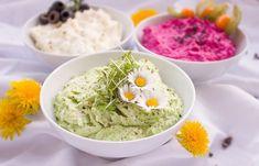 11 nápadů na zdravé svačiny pro každý den Dip Recipes, Diabetic Recipes, Vegan Recipes, Easy Recipes, Snack Recipes, Vegan Snacks, Yummy Snacks, Green Goddess Dip, Homemade Hummus