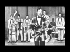 """The beginning of 'ROCK & ROLL --'""""ROCK AROUND THE CLOCK"""" - BILL HAYLEY & HIS COMETS (1955) ... """"See you later allegator, after while crocodile."""""""