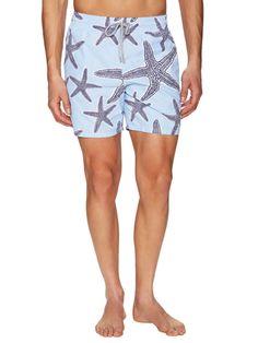 Vilebrequin Starfish Print Moorea Swim Trunks