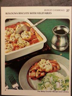 1971 betty crocker recipe card library