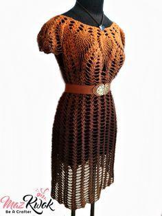 Crochet Lacy Love dress