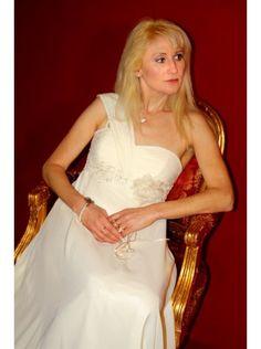 Brautkleid mit Herz Ausschnitt