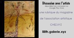 galerie d'art: Discussion avec Lilith artiste de la Galerie.xyz