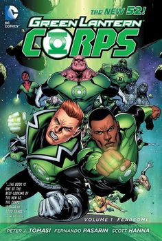 Green Lantern Corps Vol. 1: Fearsome (The New 52) HC