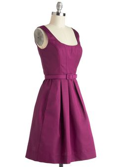 Either Orchid Dress, #ModCloth ~Maybe change the belt to the color tan if you didn't like it.