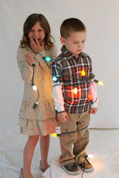 Best pose for sibling Christmas card.... Ever!!!
