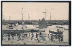 péniche au port de Roscoff