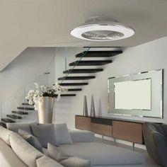 Alisio tuuletinvalaisin Led, Mantra, Varanasi, Helsinki, Bluetooth, Flat Screen, Stairs, Couch, Ceiling Lights