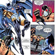 Knight Batman vs bane